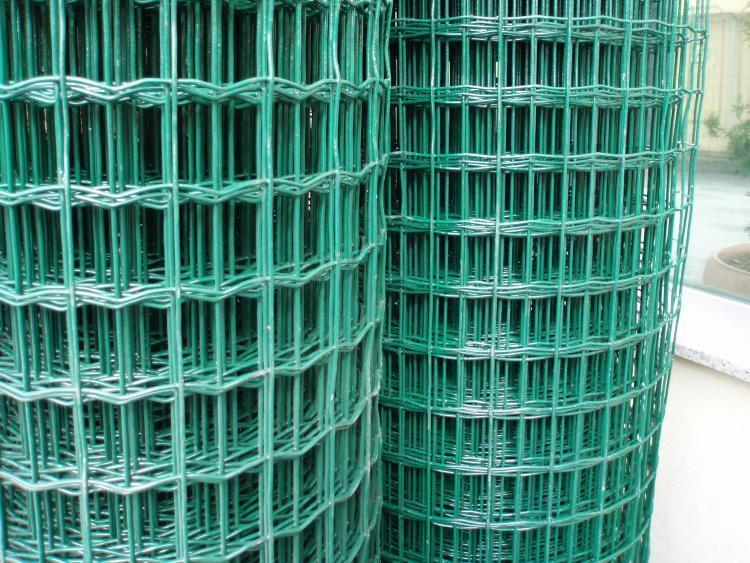 Pvc kaplı panel çit